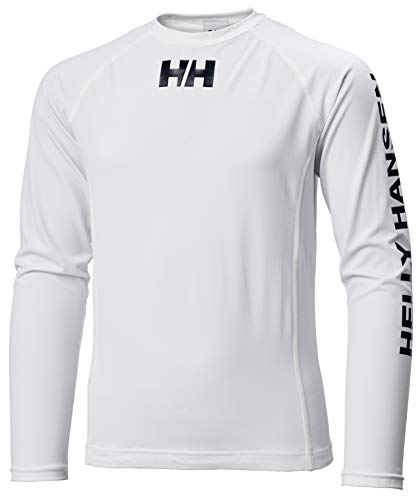 Helly Hansen Waterwear Rashguard Sweat-Shirt Blanc 16