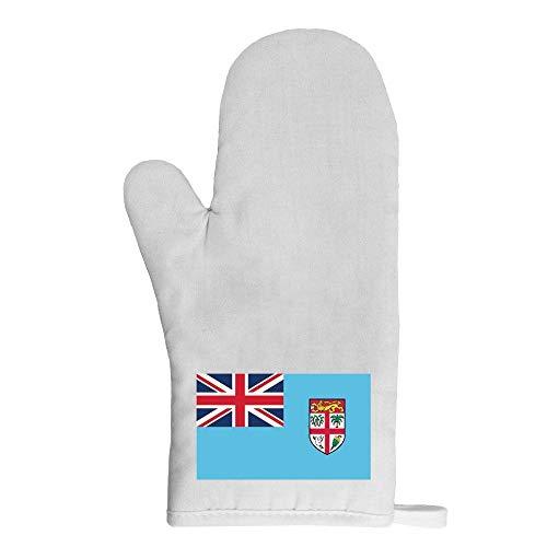 Mygoodprice Ofenhandschuh Topflappen Flagge Fidschi