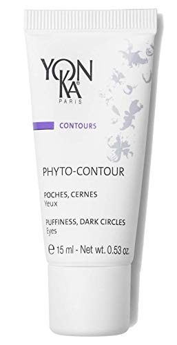 Yon-Ka Phyto-Contour Eye Cream (15 ml) Anti-Aging Under Eye Cream for Dark Circles and Puffilness, Tone and Firm with Vitamin E and Aloe Vera, Paraben-Free