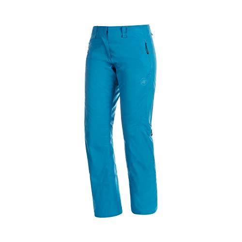 Mammut Scalottas Pantalon Hard Shell Isolant Femme, Sapphire, FR : S (Taille Fabricant : EU 36)