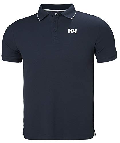 Helly Hansen KOS Polo Homme, Navy, FR : L (Taille Fabricant : L)