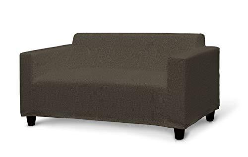 Dekoria Klobo Sofabezug Sofahusse passend für IKEA Modell Klobo beige-braun