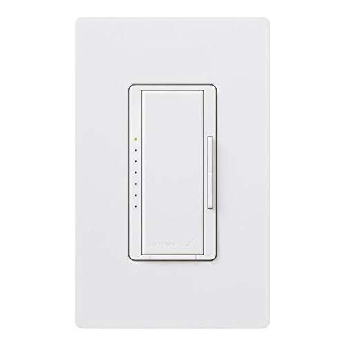 Lutron RRD-6NA-WH RadioRA 2 is a Wireless Total Home Control System Adaptive Dimmer White