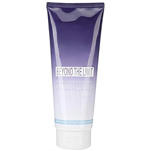 Crema para blanquear el cabello de 400 ml, champú blanqueador suave para el cabello, crema blanqueadora para el cabello y tinte para el cabello