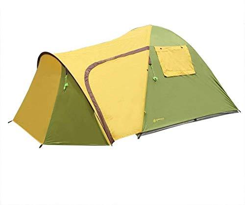 Carpas dobles multi-función, impermeable a prueba de viento 3-4 literas playa tienda de campaña tienda de campaña,A