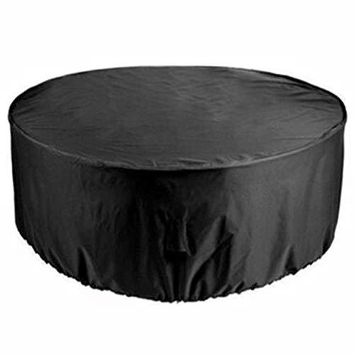 Silvotek Toile résistante 420D Housses pour Tables de Jardin-Housses pour Salons de Jardin étanche avec Cordon d'ourlet,bache Table de Jardin Housses pour mobilier de Jardin