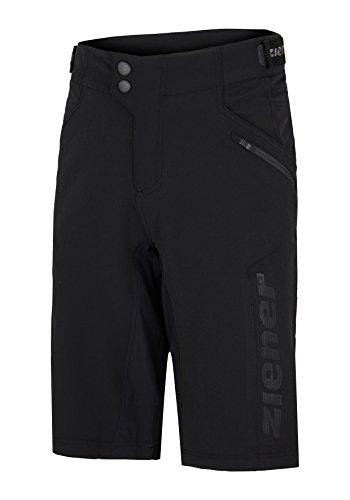 Ziener Herren CIRO X-FUNCTION Fahrrad-Shorts/Rad-Hose mit Innenhose - Mountainbike/Outdoor/Freizeit - atmungsaktiv|schnelltrocknend|gepolstert