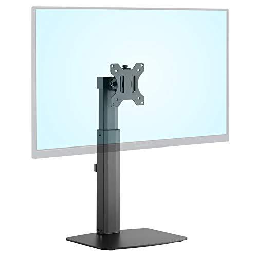 グリーンハウス 液晶ディスプレイアーム 置き場所を選ばないスタンドタイプ 32インチまで対応 GH-AMCM01