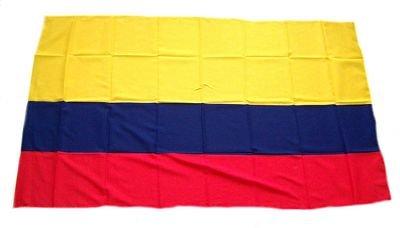 Fahne/Stockflagge Kolumbien 30 x 45 cm Flagge