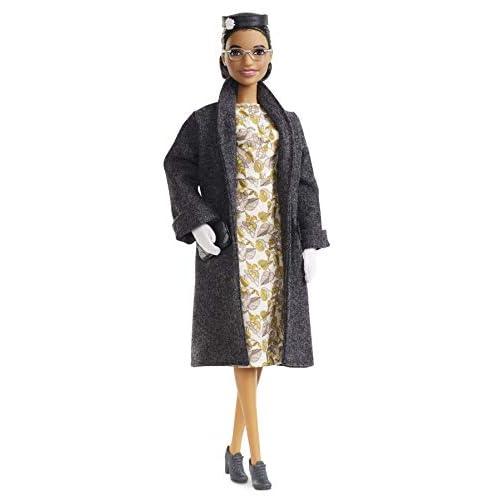 Barbie Inspiring Women, Bambola Rosa Parks da Collezionare, Fxd76, Multicolore