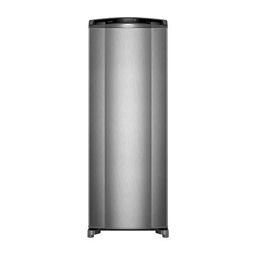Geladeira Consul Frost Free 342 litros cor Inox com Gavetão Hortifruti 220V