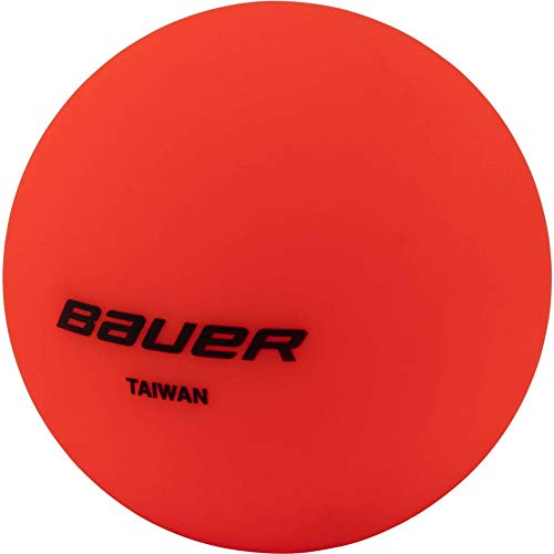 Bauer Warm - STK. Streethockey Ball, Orange, 1size