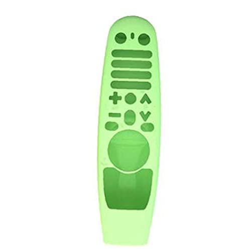 RRunzfon Caja remota de Silicona Compatible con LG Smart TV Control Remoto AN-MR600 MR11BA Green Brindado, Bolsa y Shell