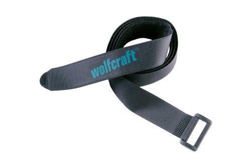 Wolfcraft 3009000 2 Klettbänder 30 x 1200 mm