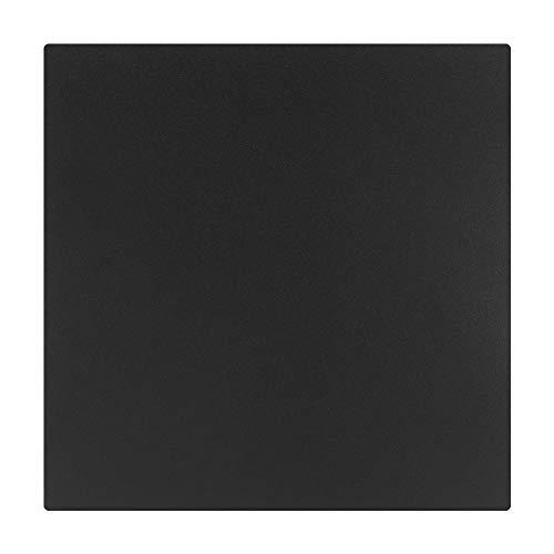 Belissy 235x235mm Black Printer Hot Bed Surface Platform Sticker Accessories Fit for Ender-2 Ender-3