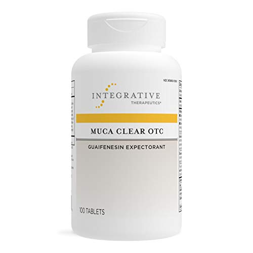 of fenugreek capsules dec 2021 theres one clear winner Integrative Therapeutics - Muca Clear OTC, Expectorant, Supports Chest Congestion, Vegan Formula, 100 Tablets