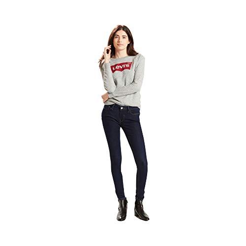 Levi's Women's 535 Super Skinny Jean, Canal Rinse, 26W x 28L