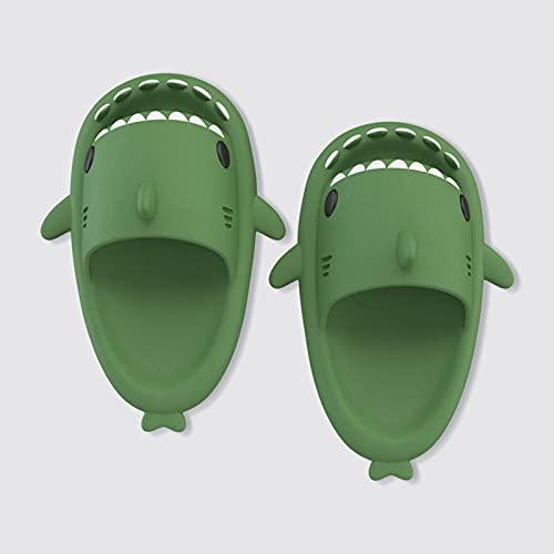 Hawaianas Mujer Chanclas,Zapatillas Para NiñOs De Dibujos Animados De Tiburones, NiñAs De Verano Y Chicas Para El Hogar Antideslizante Resistente Al Desgaste De La Playa De La Playa Sandalias De BañO-