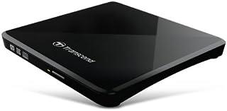 Transcend 超薄型ポータブルCD/DVDドライブ TS8XDVDS-K ブラック