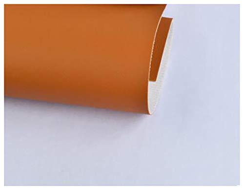 GERYUXA Cuero para Manualidades Polipiel por Metros Tejido De Piel Tapizar,Polipiel,Manualidades1,37 m de Ancho Herramienta de Costura de cuero-T16 1.37x1m