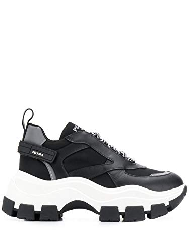 Prada Luxury Fashion Donna 1E586LF0753KY9F0967 Nero Sneakers | Autunno Inverno 19