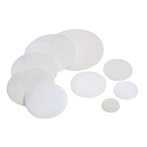 F-MINGNIAN-SPRING 10 stuks wit silicium afdichting plat VMQ draadbescherming 10 mm afdichtring afdichtring ~ 50 mm OD 1/2/3 mm dikte voegenring wasmachine
