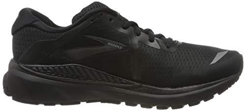 Brooks Mens Adrenaline GTS 20 Running Shoe - Black/Grey - D - 10.0 2