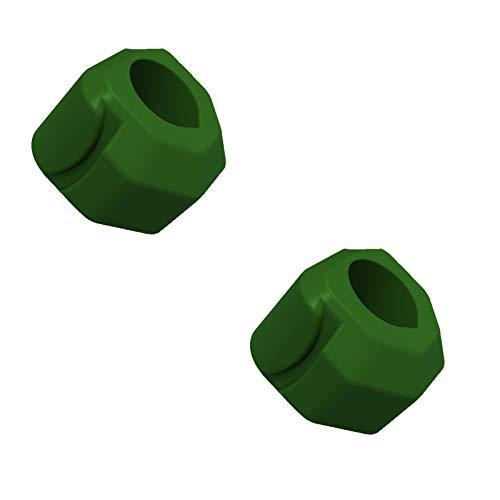 XIGU 2 Stück pro Packung Backentraining Ball Jawline Trainer Facial Fitness Muscle Trainer Muskel-Gestaltung Ball-Kiefer-Trainer Masseter-Kugel, mittleren Alters Reduzier Green