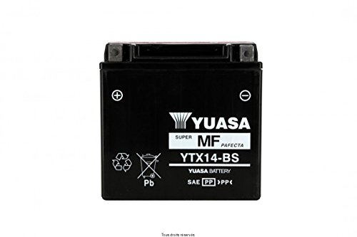 BATTERIA YUASA APRILIA CAPONORD 1200 RALLY 2013-2015 (YTX14-BS)