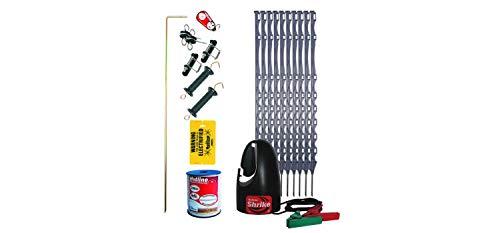 Caballo Valla eléctrica Starter Kit, valla eléctrica para caballos y Paddocks