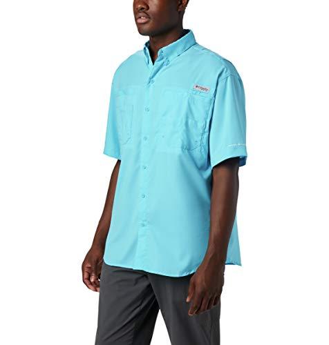 Columbia Men's Tamiami Ii Short Sleeve Shirt, Atoll, Medium