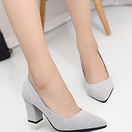 TER Zapatos de tacón Alto para Mujer, Zapatos Informales de Boda Sexis...