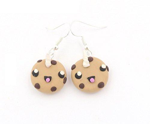 Kawaii Einhorn Keks Ohrringe handmade