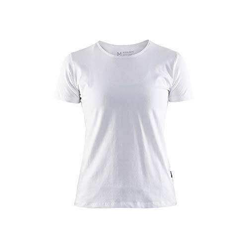 Blaklader 330410311000XXXL Damen T-Shirt, Weiß, Größe XXXL