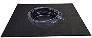 Dossetop Oil Spill Mat (Oil Pad 36x 72), Premium Absorbent Mat – Reusable – Spill Pad Contains Liquids, Protects Garage Floor Surface