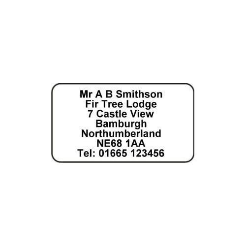 Printed Address Labels: Amazon co uk