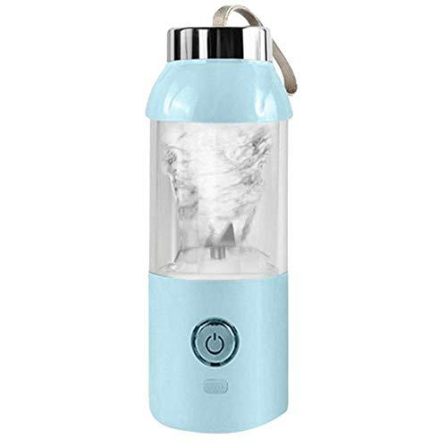 Juicer CPYPP USB Charging Blender Mixer Portable Juicer Machine Juice Fruit Maker Machine Household 500Ml Blue