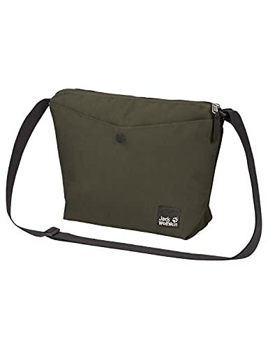 Jack Wolfskin Nature Bag Large, Bolsa de Mensajero Mujer, Verde bonsái, Talla única