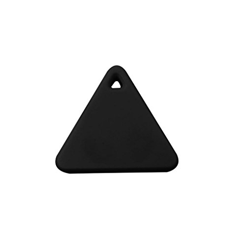 Gaddrt Smart Tag Finder Bluetooth Tracer Enfant Pet GPS Localisateur d'alarme Portefeuille clé Tracker (Noir)