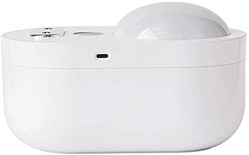 JSL Humidificador de aire con doble proyección de pulverización humidificadores de niebla fría de escritorio con luz nocturna humidificador para dormitorio habitación de bebé spa (color: rosa/blanco