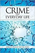 Crime and Everyday Life 4th (fourth) edition Text Only