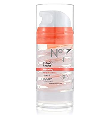 Boots No7 Beautiful Skin Hydration Mask for Dry/Very Dry Skin 100ml - SUITABLE FOR SENSITIVE SKIN by Boots