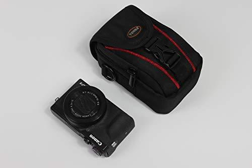 Zakao - Funda de Piel sintética para cámara Sony RX100 III IV V Vi VII Canon PowerShot G7 X Mark II III Ricoh GR II III