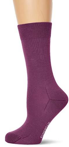 KUNERT Damen Liz Socken, Violett (Purple Pink 5650), (Herstellergröße: 39/42)