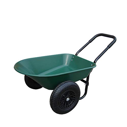 HTI-Line Schubkarre Havel 78 Gartenschubkarre Mehrzweckkarre Muldenkarre Bauschubkarre Einradkarre Mistkarre Transportkarre Pferdemist
