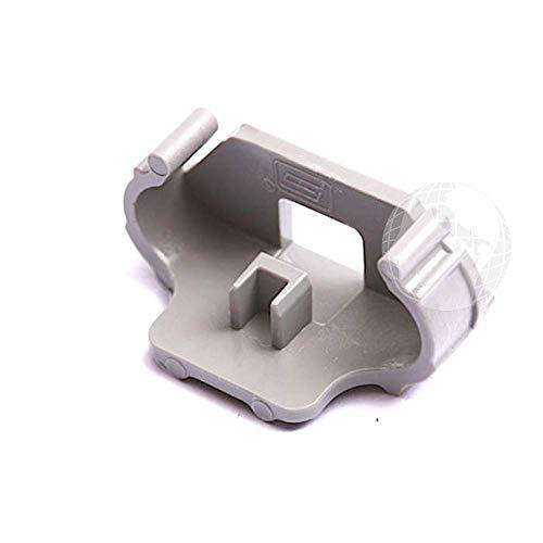 Kit de 2 piezas Top / Terminal (ORIGINAL Beko), para guía de la cesta lavavajillas, Código del recambio: 1732840100