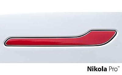 Nikola Pro Tesla Model 3 Door Handle Wrap Kit