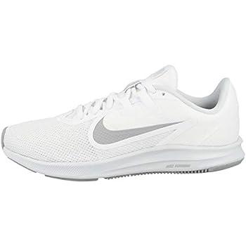 Nike Women s Downshifter 9 Running Shoe White/Wolf Grey-Pure Platinum 8 Regular US