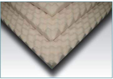 Mattress Overlay Convoluted Foam 4 X 34 X 72 Inch, SP45S-000 - Each