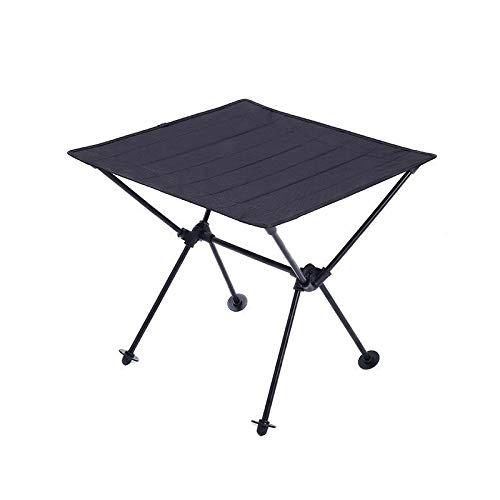 Alvnd Outdoor Folding Camping tafel, Met Draagbare Tas, 600D Oxford doek Aluminium frame Lichtgewicht barbecue tafel Draagbare Travel Picnic Table